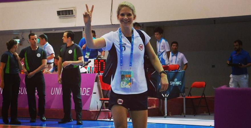 DST 11 Foreleser Lene Eide Universiade 2019.jpg